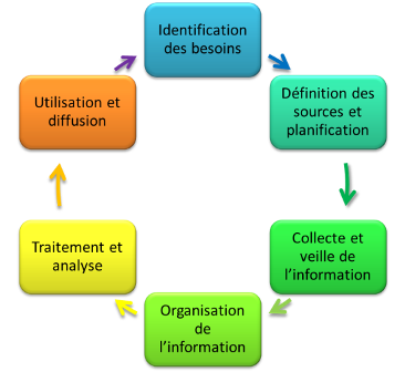 Social Business Models - Cycle de gestion de l'information